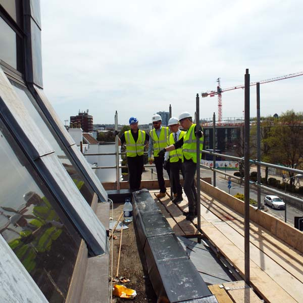 39-41 Marlowes roof inspection