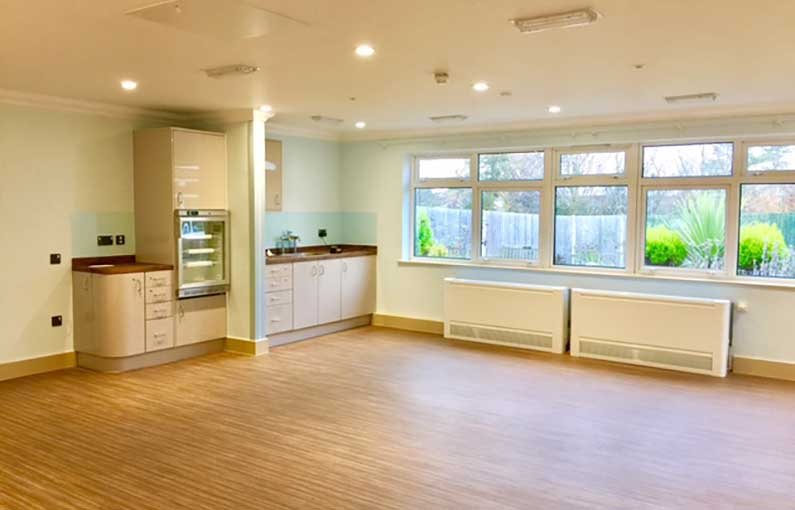 Dementia Care dining area