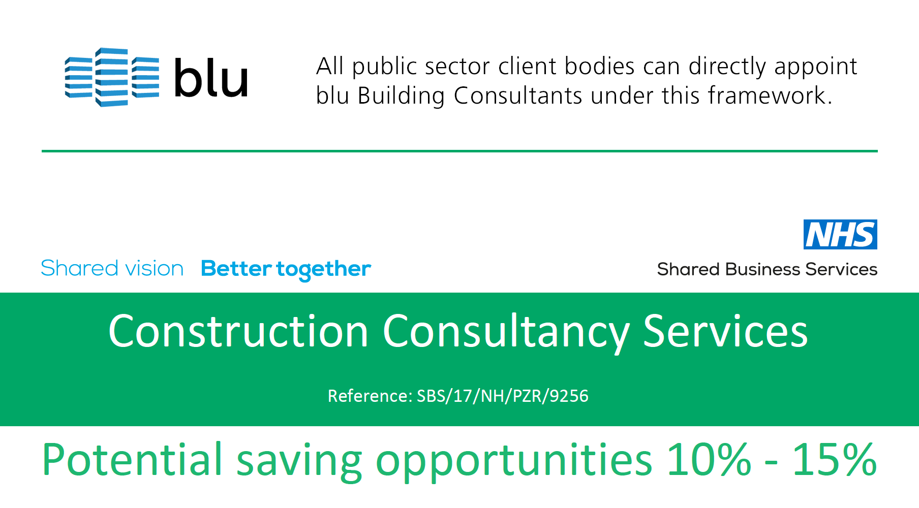 Blu Building Consultants Shared Business Services SBS