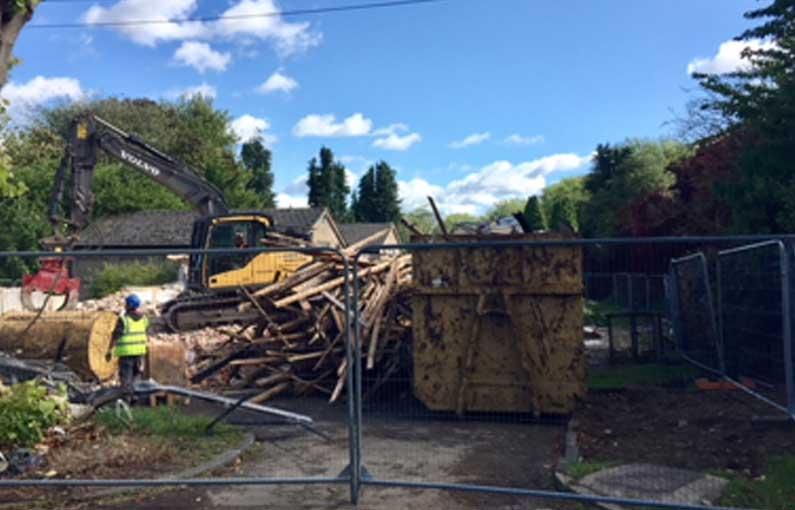 Building 57 demolition