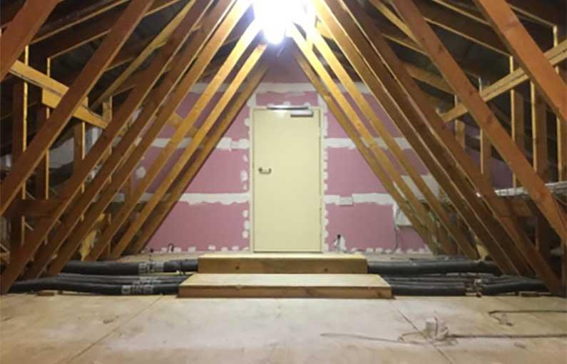 Six facet fire compliance roof