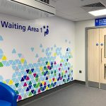 St Albans Civic Centre waiting area entrance