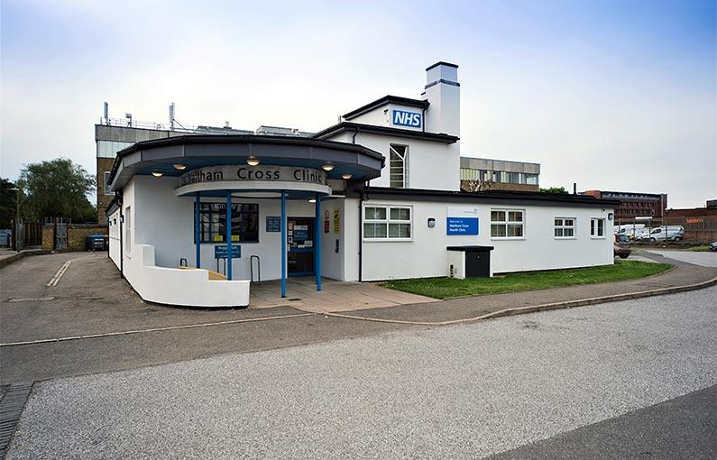 Waltham Cross Health Centre entrance