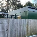Blu Building Consultants Holly Lodge new modular building path view