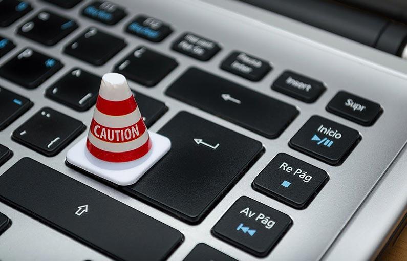 Cyber Essentials Plus online caution